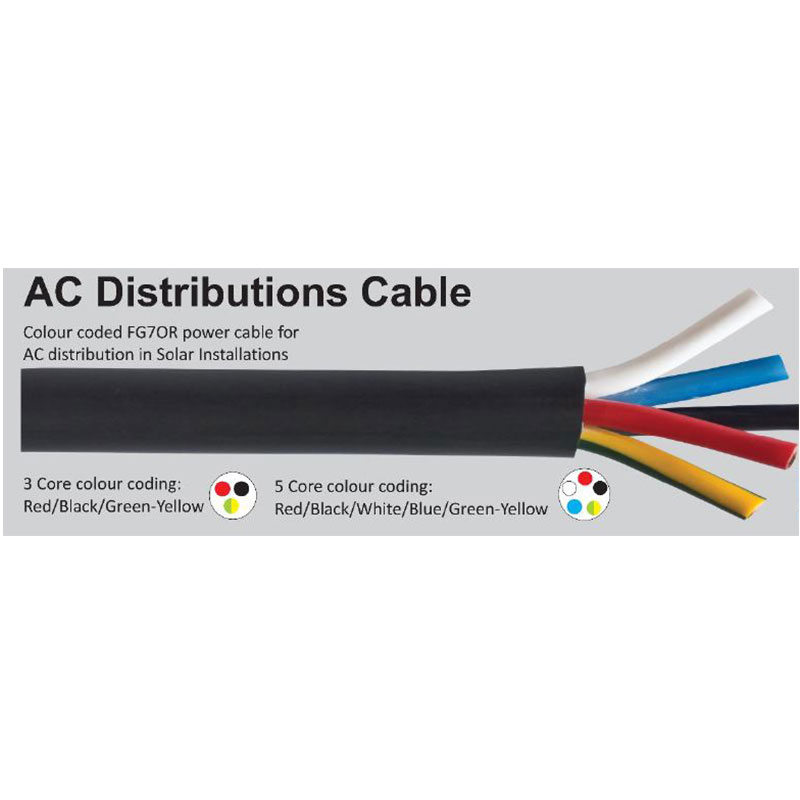 AC Cables- 3 core and 5 core